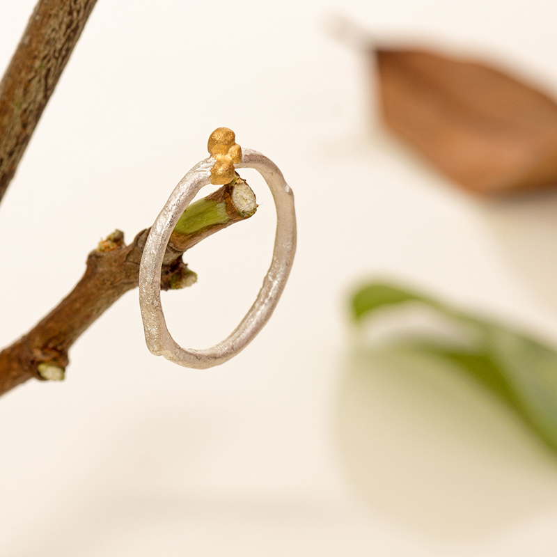 Forest In Moonlight Ring